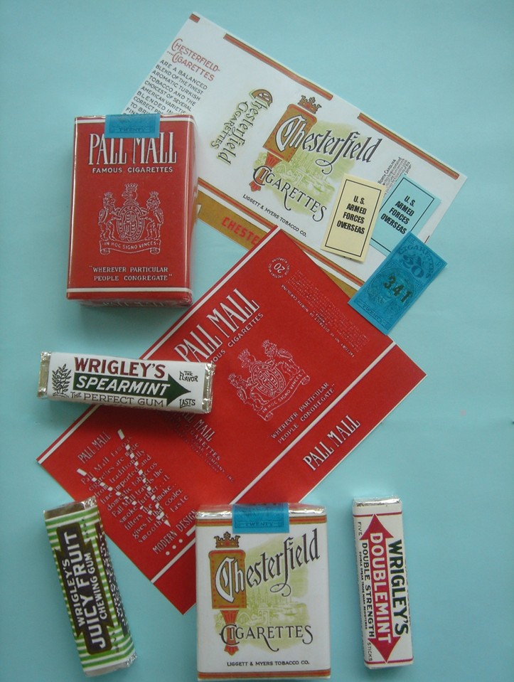 WWII Cigarettes Packs